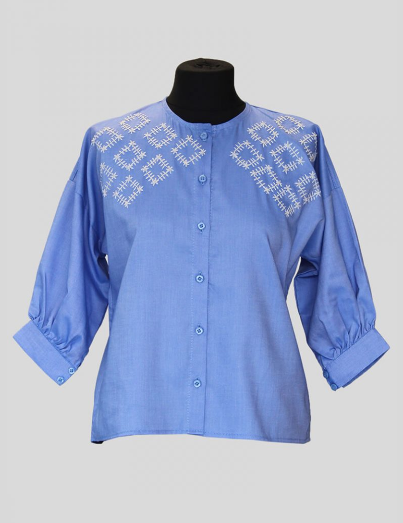 Tribal Embroidered Blouse