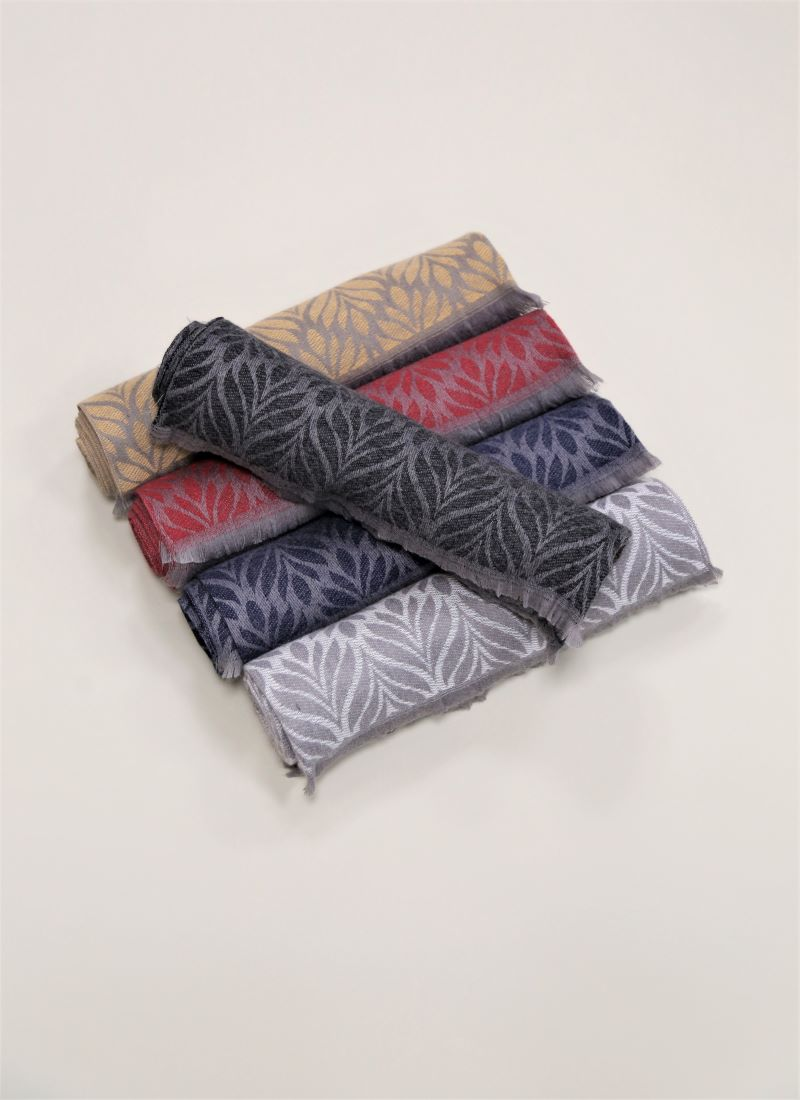 Cashmere Scarves five design in photo